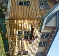 Log Home Restoration Near Ogallala NE