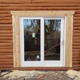 Danville IL Rot Repair and Log Home Improvement Project