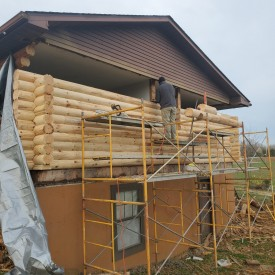 Log Wall Replacement in Vine Grove KY