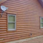 log home restoration Permachink stain Oklahoma City Oklahoma