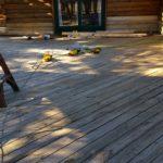 Log Replacement Around Doors