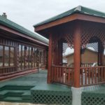 AFTER: Log Home and Deck Refinishing