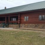 AFTER: Log Home Repair and Restoration