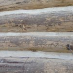 BEFORE: Logs to be Refinished
