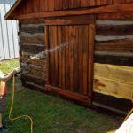 Washing the Logs