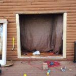 Installing Frame for Door