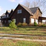 Before Log Home Restoration (2015)