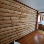 Inside Log Replacement Wall