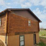 Completed Log Home Restoration