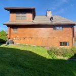 Full Log Home Refinishing
