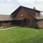 Before Log Home Restoration